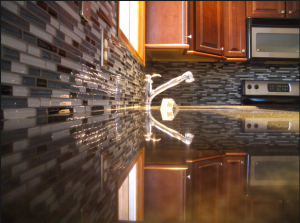 Danny Yehia walks you through how to apply a mosaic tile backsplash in your kitchen.